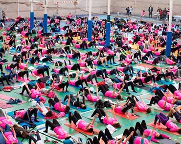 III Pilates Solidario por AFANION